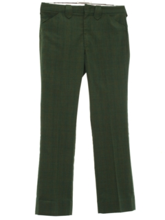 1960's Mens Mod Flared Western Style Leisure Pants