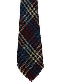 1960's Mens Accessories - Mod Wool Necktie
