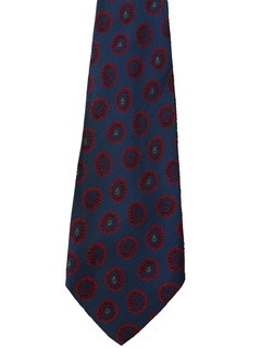 1960's Mens Accessories - Wide Silk Necktie
