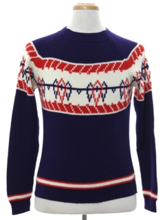 1970's Unisex Ski Sweater