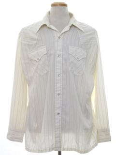 1970's Mens Western Sport Shirt