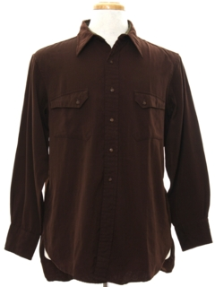 1940's Mens Wool Shirt