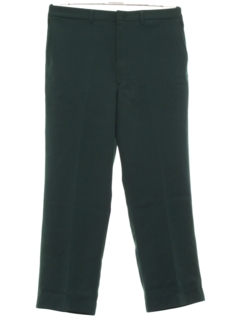 1970's Mens Flat Front Slacks Pants