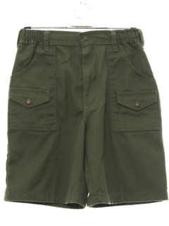 1980's Mens/Boys Boyscout Shorts