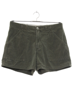 1990's Womens Corduroy Shorts