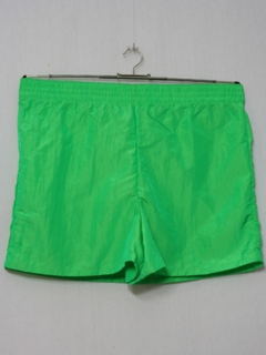 1980's Mens Totally 80s Shorts