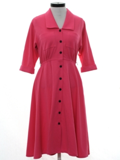 1950's Womens Knit Dress