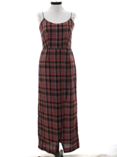 1980's Womens Maxi Sun Dress