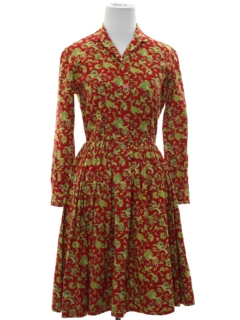 1950's Womens Day Dress