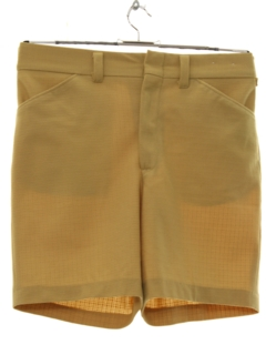 1970's Mens Mod Saturday Shorts