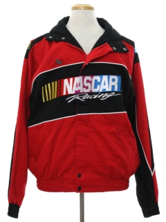 1990's Mens Wicked 90s Nascar Racing Jacket