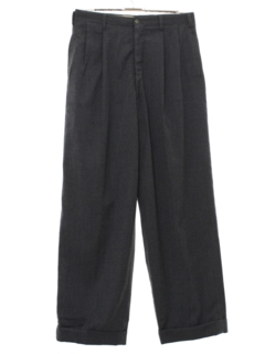 1960's Mens Rockabilly Wide Leg Pleated Slacks Pants