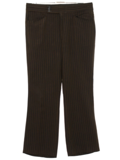 1960's Mens Mod Flared Leisure Style Slacks Pants
