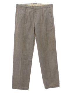 1960's Mens Pleated Slacks Pants