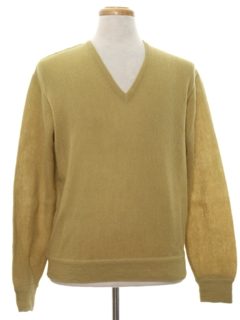 1980's Mens Alpaca Pullover Sweater