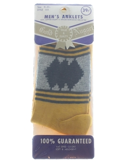 1950's Mens Accessories - Socks