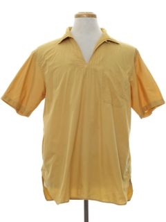 1960's Mens Pullover Hippie Shirt