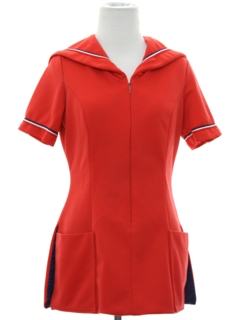 1960's Womens Uniform Tunic Shirt