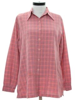 1970's Womens Gabardine Shirt