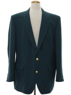 1980's Mens Mod Blazer Sport Coat Jacket