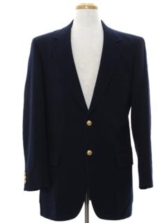 1970's Mens Mod Blazer Jacket