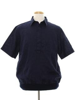 1980's Mens Pullover Shirt