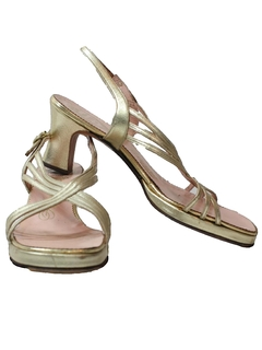 1960's Womens Accessories - Designer Heel Shoes