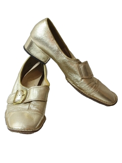 1960's Womens Accessories - Mod Heel Shoes