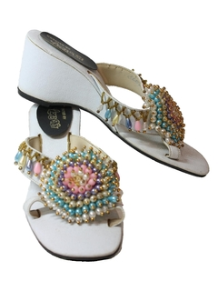 1960's Womens Accessories - Heels Sandals Shoes