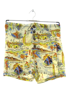 1990's Womens Hawaiian Shorts