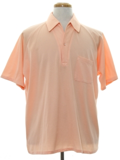 1970's Mens Resort Wear Style Golf Shirt