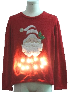 1990's Unisex Lightup Ugly Christmas Sweater