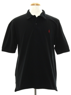 1980's Mens Totally 80s Knit Polo Shirt