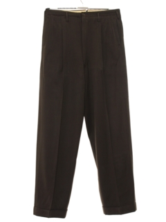 1940's Mens Pleated Swing Pants