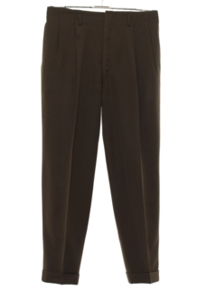 1940's Mens Pleated Gabardine Swing Pants