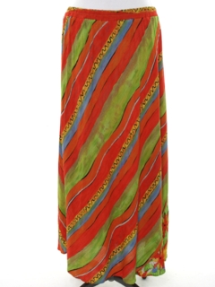 1990's Womens Hippie Maxi Skirt