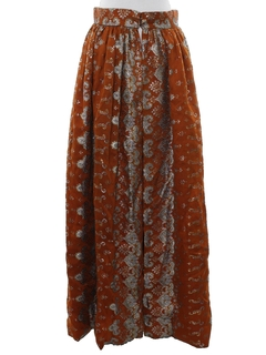 1980's Womens Ethnic Hippie Skirt