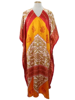 1980's Womens Caftan Dress
