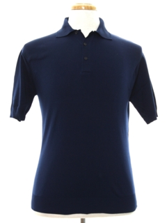 1960's Mens Knit Banlon Polo Shirt