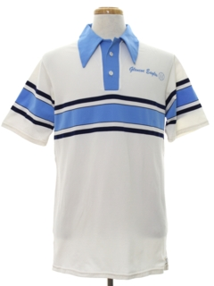 1970's Mens Golf Style Polo Shirt