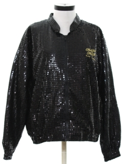 1990's Womens Wicked 90s Sequined Jacket