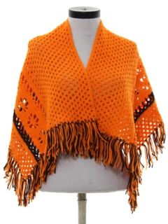 1970's Womens Accessories - Shawl