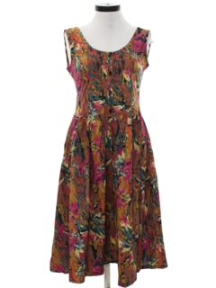 1980's Womens Day Dress