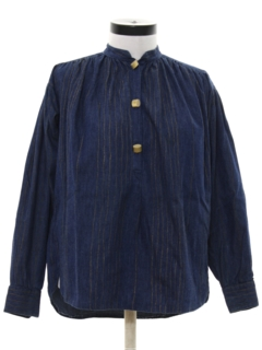 1980's Womens Totally 80s Chambray Shirt