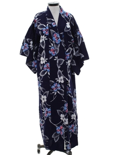 1980's Womens Asian Style Robe