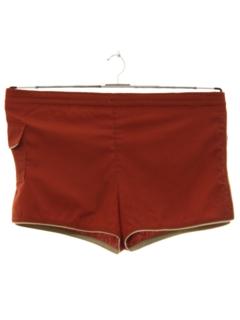 1980's Mens Mod Swim Shorts