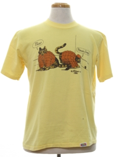 1970's Mens Cheesy T-Shirt