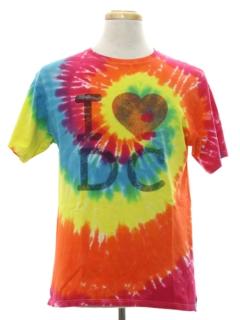1990's Unisex Tie Dye T - shirt