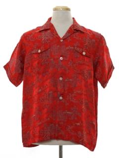 1950's Mens Sport Shirt