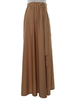1970's Womens Disco Maxi Skirt